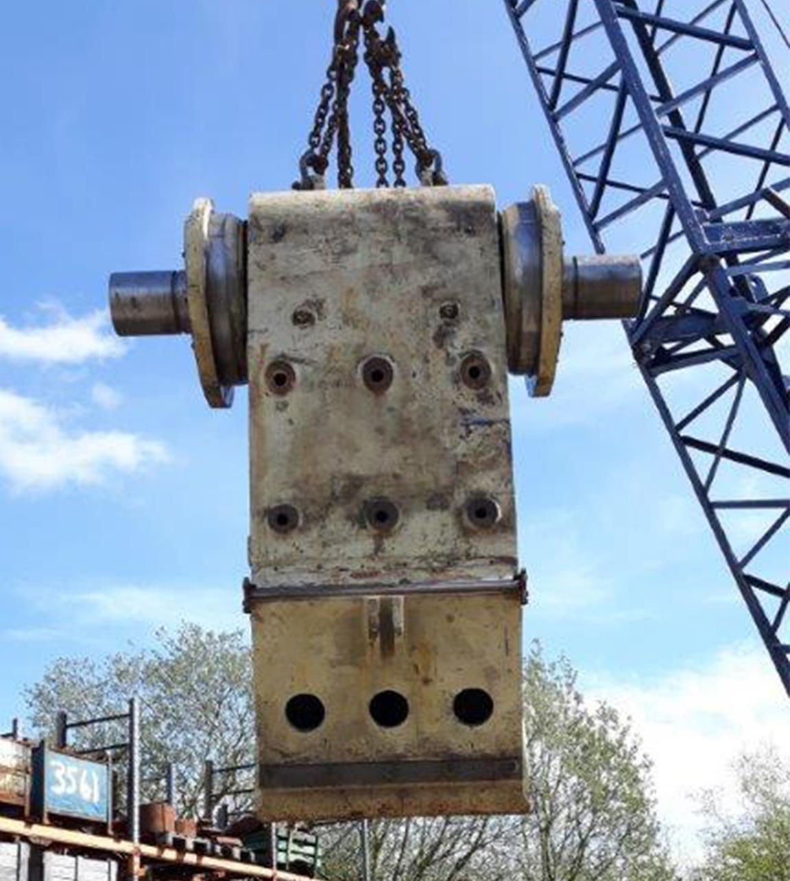 C140 Crusher Refurbishment.