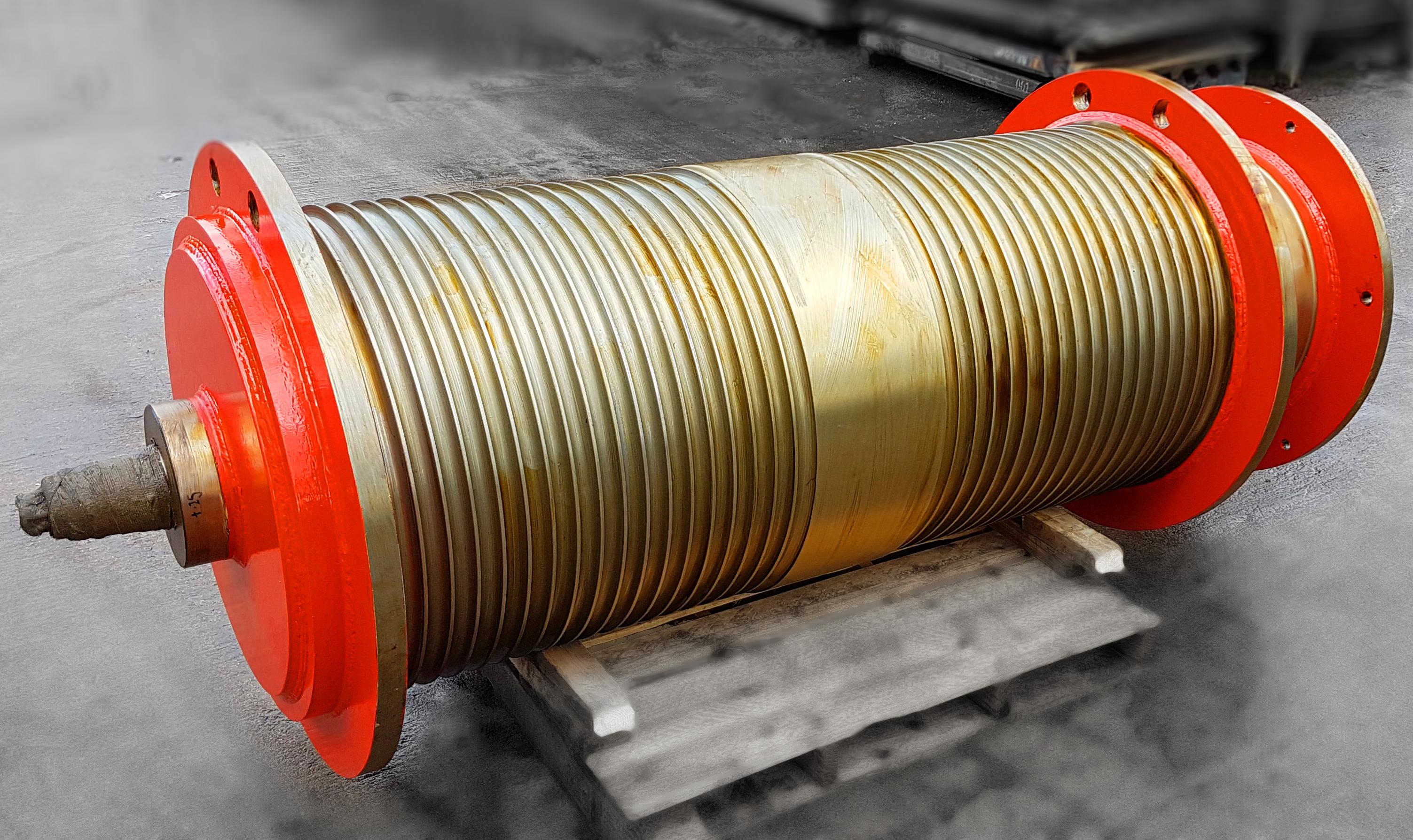 Hoist Barrel Assembly