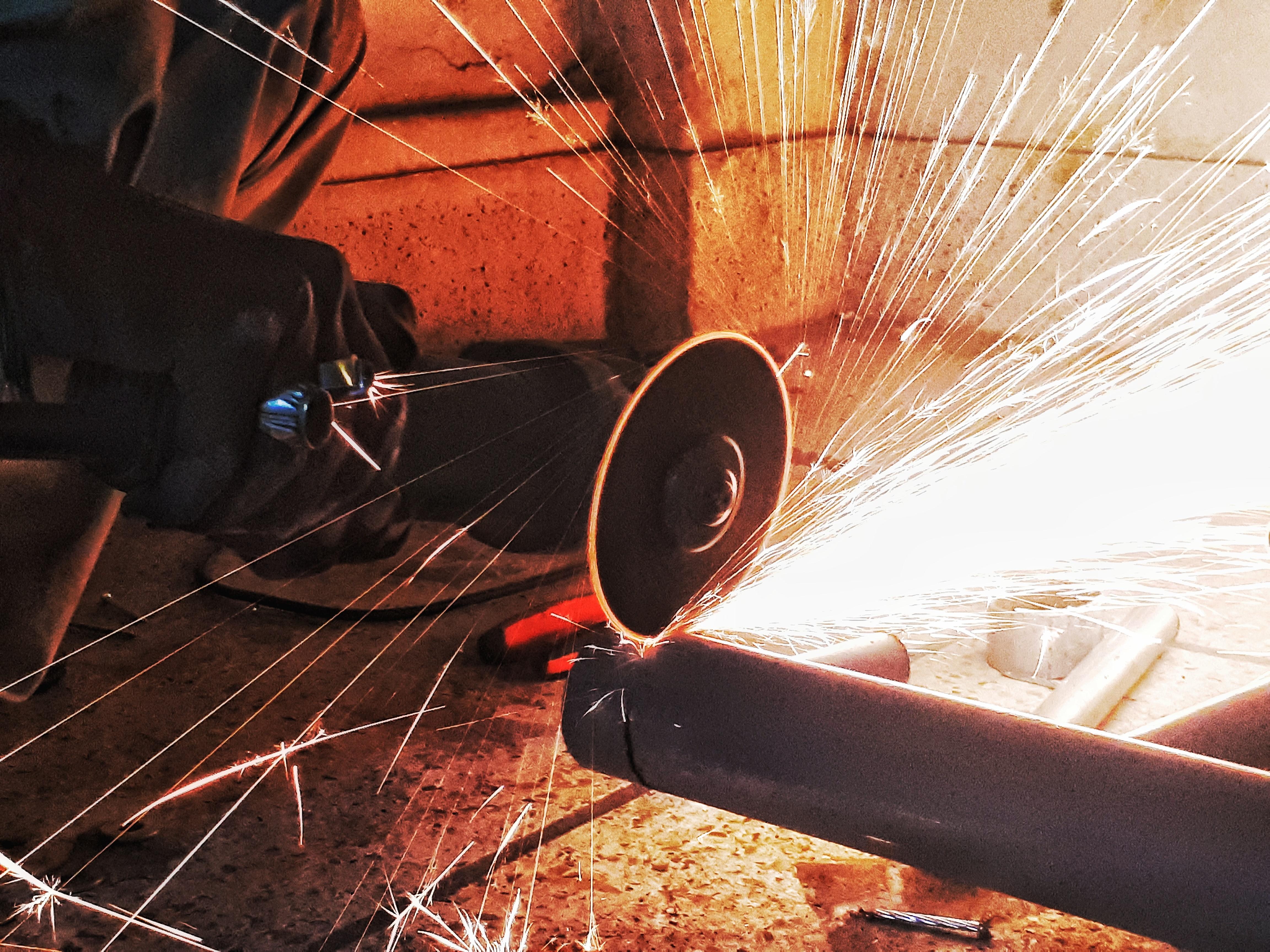 Steel Cutting.